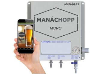 Misturador de Gases para extração de cervejas e chopp – MANÁCHOPP