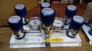 Central de Primeiro Estágio para Gases Especiais - Dupla e Manual