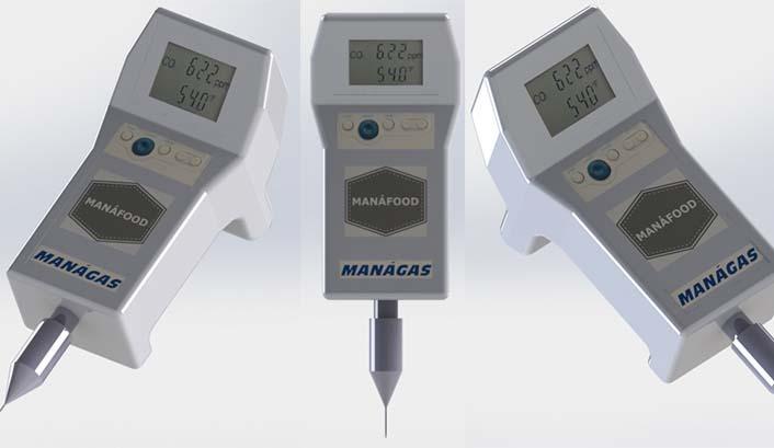 Analisador de Gases para Embalagem Atmosfera Modificada