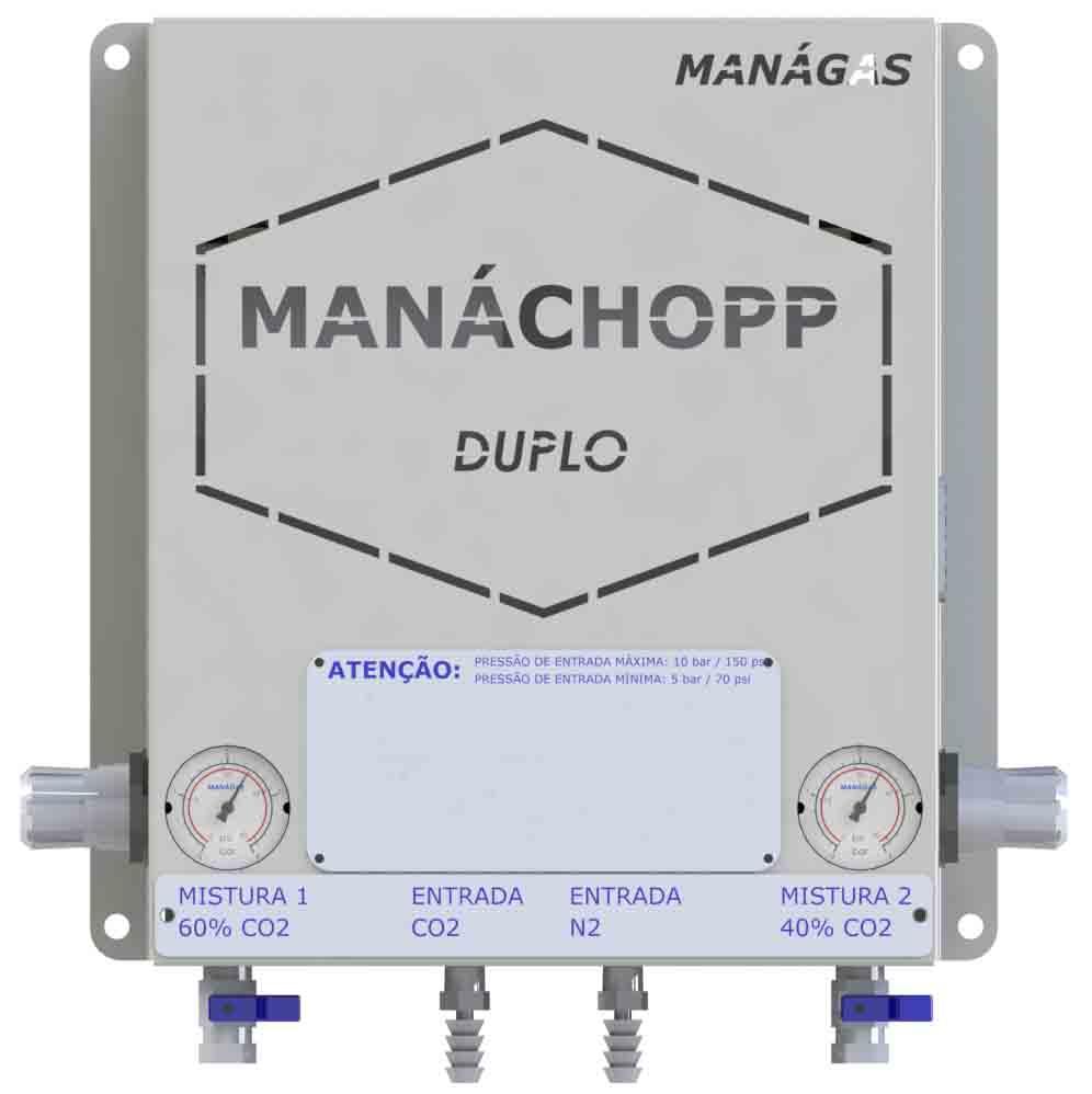 Melhorar espuma do chopp/cerveja com Nitrogênio e CO2 - Misturador de Gases