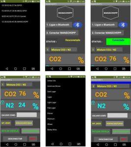Chopp com Nitrogênio - Misturador de Gases Dinâmico de 0 à 100% concentração dos gases